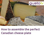 GUSTO TV Cheese Plate
